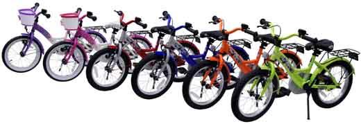 bike star Farbpalette 16 Zoll